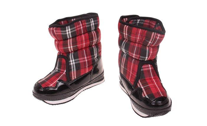 55d282a5a0f2 Detské zimné topánky červené